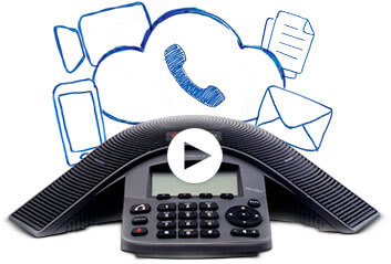 Watch video: How does a phone system in the cloud work?