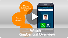Watch video: RingCentral Overview