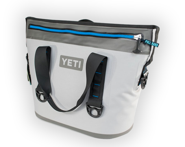Visit the RingCentral booth and enter to win a YETI Hopper Two 20 cooler