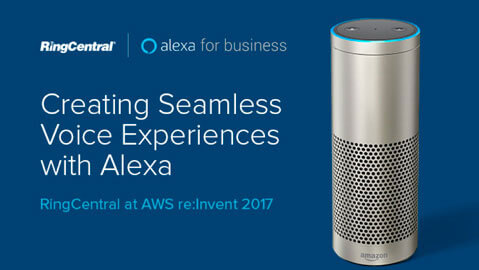RingCentral Transforms Online Meetings Experience with Alexa for Business
