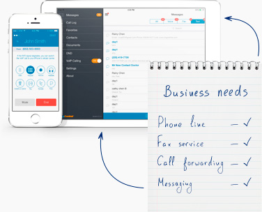 Extend your reach with RingCentral small business phone service
