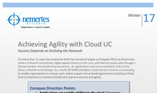 Achieving Agility with Cloud UC