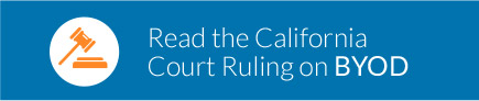 Read the California Court Ruling on BYOD