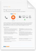 RingCentral Voicemail to Email: Download the RingCentral Voicemail Datasheet