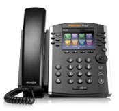 Polycom VVX-410 Color Gigabit Ethernet Phone