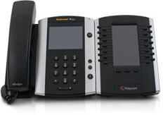 Polycom VVX-501 / Color Touchscreen Desk Phone