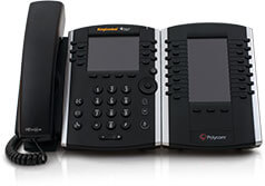 Polycom VVX-411 Color Gigabit Ethernet Phone