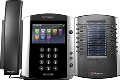 Polycom VVX-601 / Large Color Touchscreen Desk Phone