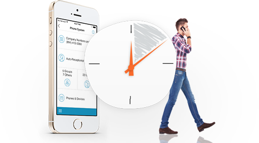 RingCentral Professional is so easy to configure that you can get it up and running in only a few minutes