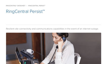 RingCentral Persist™