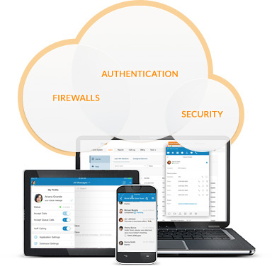 RingCentral technology offers infrastructure safeguards like firewalls and multiple authentication levels