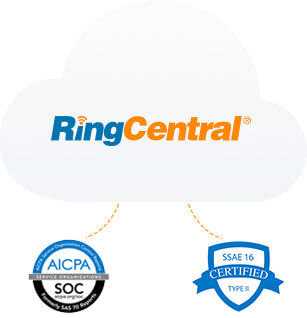 RingCentral received top security ratings from AICPA, TRUSTe, and Skyhigh