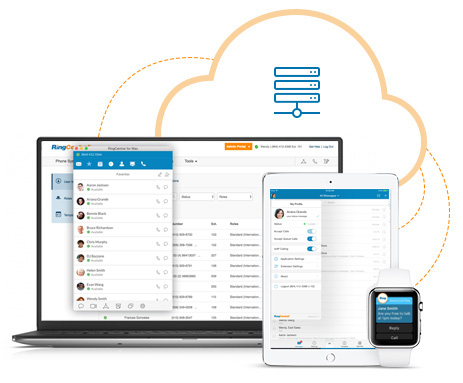 RingCentral offers consistent experience across devices