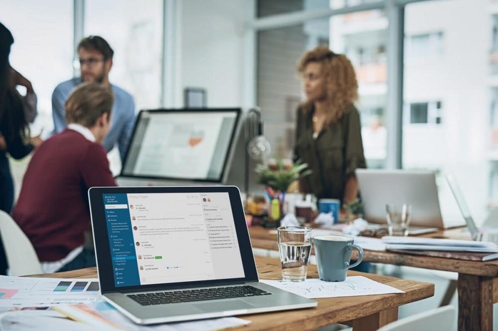 Moins de perturbations dans le travail grâce aux outils de communications cloud unifiées.