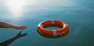 Lifesaver water